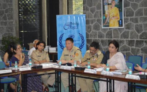 Ms. Shamina Shafiq giving her views on Police Reform