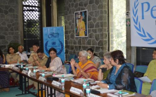 """Round table discussion on the theme """"अबकी बार सच्चा पुलिस सुधार"""" on 23th September, 2014"""