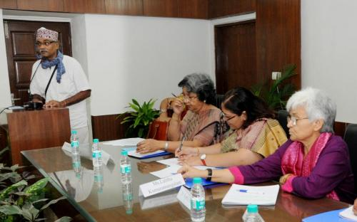 Smt. Lalitha Kumaramangalam, Hon'ble Chairperson, NCW inaugurated two day National Seminar on Gender and Violence: A challenge for Equitable Society, organised by Department of Sociology, Jamia Millia Islamia, New Delhi and Research Committee 10 (gender studies) of Indian Sociological Studies (ISS)