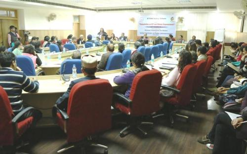 Participants during consultation on ICT and women empowerment organized at IIPA, New Delhi