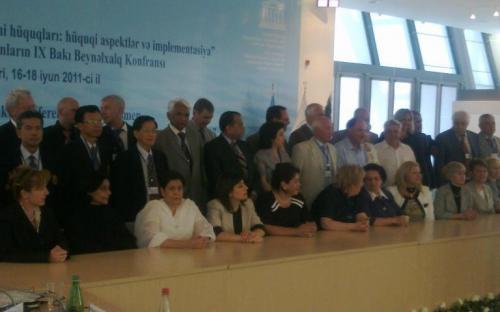 Official Visit of Hon'ble Chairperson to Baku, Azerbaijan