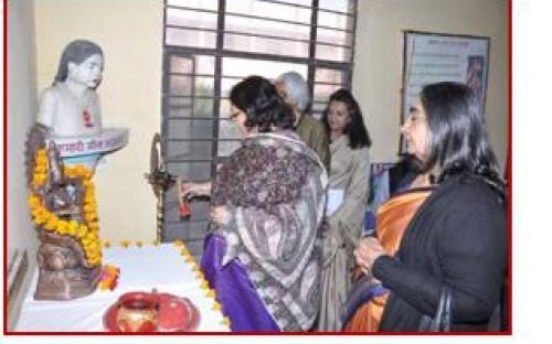 Smt. Lalitha Kumaramangalam, Hon'ble Chairperson, NCW inaugurating the 2nd phase of Udayan Shalini