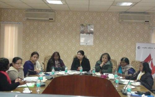 "Ms. Hemlata Kheria, Member, NCW chaired an Expert Committee on Dalit women titled ""Discrimination faced by Dalit women"" at the conference hall of the Commission"