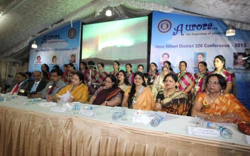 Smt. Lalitha Kumaramangalam, Hon'ble Chairperson, NCW during conference Aurora - the beginning of awaking