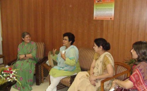 Smt. Mamta Sharma and Dr. Charu Wali Khanna has joined National Commission for Women as the Chairperson and Member respectively