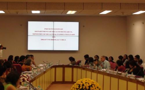 National Consultation on Surrogacy Issues  National Commission for Women organized a National Consultation
