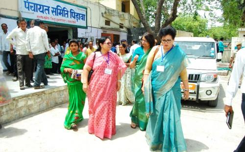 The Commission in collaboration with TISS has developed modules for Capacity Building of elected women representatives