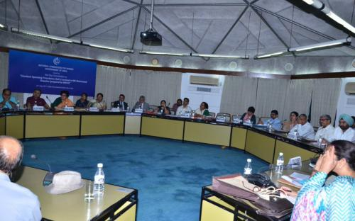 "NCW organizes 1 day consultation on ""Standard Operating Procedures involved in NRI Matrimonial Disputes (prepared by MWCD)"