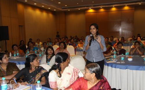 Open house Interaction with the participants