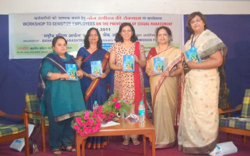 Release of bilingual Book on Protection of Women Against Sexual Harassment in MARATHI and English