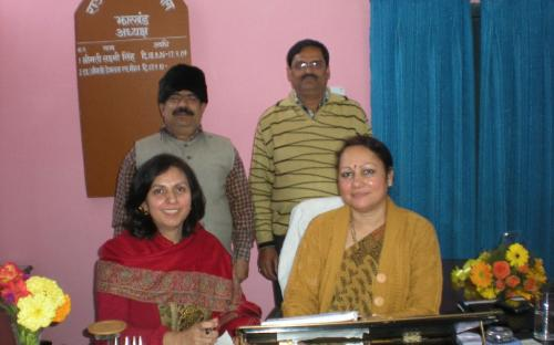 Dr Charu WaliKhanna, Member NCW with Smt. Hemlatha Mohan, Chairperson State Commission for Women, Jharkhand and Shri Chandra Shekhar Jha and Arvind Kumar Jha, Legal Advisor