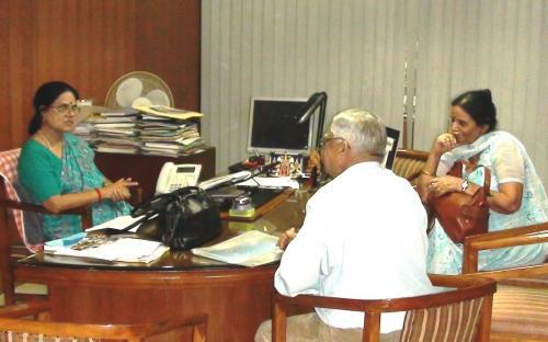 NCW Chairperson Dr. Girija Vyas