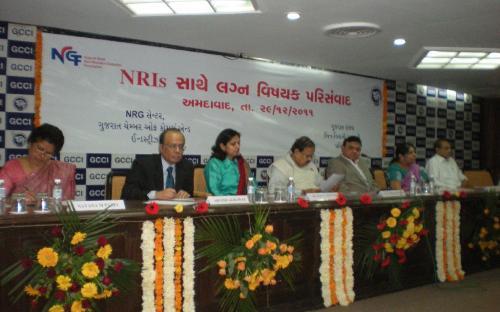 "Seminar on ""Marriage Matters Concerning NRIs,"" sponsored by Gujarat State Non-Resident Gujaratis' Foundation, Gandhinagar"