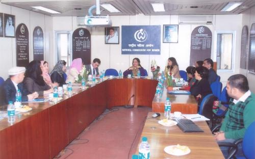 A delegation from Afghanistan visited National Commission for Women
