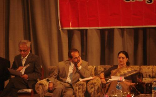 A political visit of Dr. Girija Vyas to Nepal