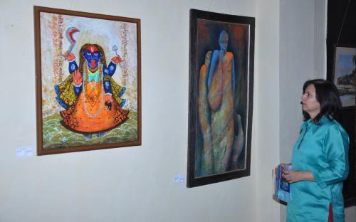 """Commemorating 101 years of International Women's Day - Dr. Charu Wali Khanna, Member National Commission for Women inaugurates Art Exhibition - """"The Pride of Being a Woman - 2"""""""