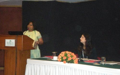 Dr. Charu WaliKhanna, Member, NCW attended a meeting of the Tripartite Task Force on Gender at New Delhi