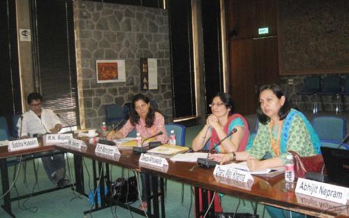 Mr.Avijit Nepram, Ms Seema, Dr. Deepa Ahluwalia, Dr Charu Wali Khanna(L-R)