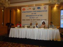 "Member NCW Dr. Charu WaliKhanna was Chief Guest at ""UP State Consultation- Implementation of the PCPNDT Act"" held Lucknow"