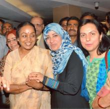 Member NCW interacts with Ms.Tawakkol Karman, The Youngest Nobel Laureate – Peace, 2011 at Babu Jagjivan Ram Fifth Memorial Lecture