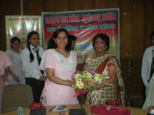 "Dr. Charu WaliKhanna, Member, NCW was Chief Guest at a seminar ""State Commission and Women's Right Vs. Human Rights"" held Dehradun"