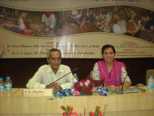 "Dr. Charu WaliKhanna Member NCW, attended seminar on ""Scheme of Handicrafts- AHVY"""