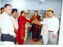 Ms. Hemlata Kheria, Hon'ble Member, National Commission for Women visited Chandigarh