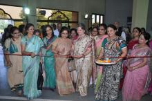 "Ms. Mamta Sharma, Hon'ble Chairperson, NCW inaugurated the 14th Annual Exhibition Cum Sale ""Diwali Extravaganza"" at Birla Auditorium Museum Hall, Jaipur"