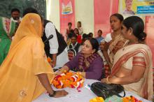 Ms. Shamina Shafiq, Member, NCW attended a Legal Awareness Program at Sakran, Uttar Pradesh