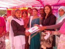 "Ms. Shamina Shafiq, Member, NCW attended a sammelan on ""Beeti Bachov"" organised by Gram Panchayat Chiriya & Beti Desh ki Shaan Foundation (Regd) Bhiwani (HR) at Govt Girls Sr. Sec. School, Village Chiriya, Distt Bhiwani (HR) on 9th December"