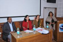 "Dr. Charu WaliKhanna, Member NCW was Chief Guest at the Programme on ""Gender Sanitations & Code of Conduct at Work Place"" for employees of THDCIL at Corporate HRD Centre, Rishikesh (UK)"