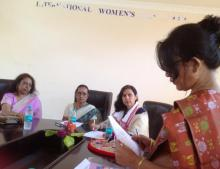Dr Charu WaliKhanna Member NCW held discussions on gender violence and other women related issues with Assam State Commission for Women (ASCW), Guwahati
