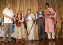 "Ms. Mamta Sharma Hon'ble Chairperson, NCW attended a cultural programme ""Yadgar -e- Ghalib"" in order to mark the death anniversary of Mirza Asadullah Khan Ghalib"