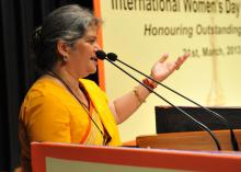 "International Women's Day Celebration ""Honouring Outstanding Women"" organized by the Commission"