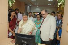 Ms. Mamta Sharma, Chairperson, NCW inaugurated Vijaya Bank Branch at Janakpuri, New Delhi
