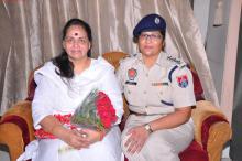 Ms. Nirmala Samant Prabhavalkar, Member, NCW, visited Amritsar ane met Police Women Cell officials