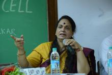 Ms. Nirmala Samant Prabhavalkar, Member, NCW attended a programme organised by Women Development Cell, M.M.K. College, Bandra, Mumbai