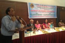 "Dr. Charu WaliKhanna, Member, NCW, was Chief Guest at programme on ""Women's Empowerment"" organized by Lions Club"