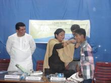 Ms. Shamina Shafiq, Member, NCW attended hearing at Hyderabad