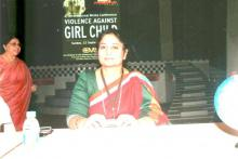 "Ms. Shamina Shafiq, Member, NCW was the chief guest at a seminar on ""Violence Against Girl Child"""
