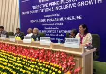 Dr. Charu WaliKhanna, Member, NCW, was Eminent Speaker at All India Seminar on 'Directive Principles of Indian Constitution & Inclusive Growth'