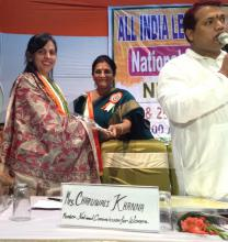 Dr. Charu WaliKhanna, Member, NCW, Guest of Honour at Seminar on 'Empowerment of Women in India' at Delhi