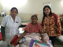 Dr. Charu WaliKhanna, Member, NCW, visited St. Stephen's Hospital