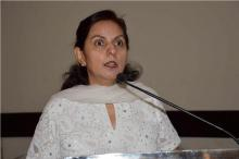 "Dr. Charu WaliKhanna, Member, NCW, Guest of Honour at NCW National Seminar on ""Violence Against Women Mainly focusing on Safety of Women at Public Places and Education Centers"""