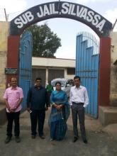 Ms. Hemlata Kheria visited Silvassa Jail, Dadra Nagar Haveli