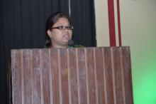 "Ms. Hemlata Kheria, Member, NCW was Chief Guest in a National Seminar on ""Dimension of Protection of Women From Domestic Act, 2005: Journey so for"""