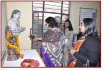 Smt. Lalitha Kumaramangalam, Hon'ble Chairperson, NCW inaugurating the 2nd phase of Udayan Shalini