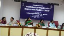 "Consultation on ""Expanding Opportunities for Women with Disability"""