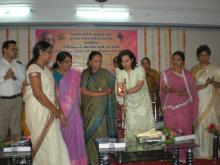 NCW was Chief Guest at Seminar on NRI MARRIAGE AND ABANDONED WOMEN organized by Gujarat State Commission for Women held at Vadodara on 3 March, 2012