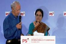 A political visit of Dr. Girija Vyas to Paris